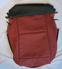 BMW E89 Z4 Coral Red Leather Seat Base Cover Right Side GENUINE 52107213906