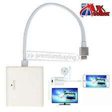 8 Pin Lightning To HDMI Cable HDTV AV Adapter For Apple iPad Mini iPhone 5s 6s 6