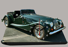 MODEL CARS, MORGAN GREEN-05,11,8x 7,8 inches and aluminium with Clock