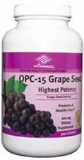 OPC -15 Grape Seed Extract (300 Tablets / 100 MG) Red wine, Bilberry, Pine bark