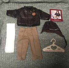 Pleasant Company American Girl Retired Molly's Aviator Outfit Bomber Jacket, etc