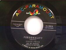 "LLOYD PRICE ""PERSONALITY / HAVE YOU EVER HAD THE BLUES"" 45"