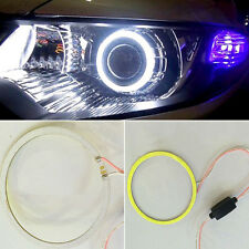 Durable COB LED Light Ring Car Angel Eyes Decoration Width Lamp Fog White Light