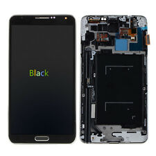 For Samsung Galaxy Note 3 N900V Complete Lcd Display Touch Glass Digitizer frame