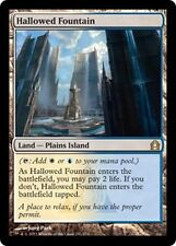 Fontaine sacrée - Hallowed Fountain - Magic Mtg -