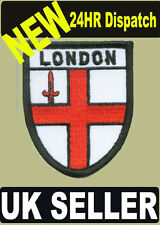 ST. GEORGE'S CROSS LONDON UNDERGROUND FLAG WORLD EMBROIDERED PATCH - BADGE
