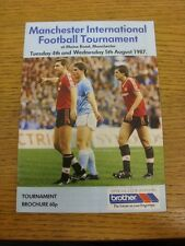 04/08/1987 Manchester International Football Tournament: Official Tournament Bro