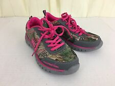 Realtree Real Girl Camo Cobra Jr Sneakers Hot Pink Accents Size 6 M Kendra