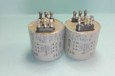 1 Matched Pair TAMURA/TAMRADIO THS-1 600 OHM CT : 600 OHM Audio Transformers