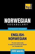 Norwegian Vocabulary for English Speakers - 3000 Words by Andrey Taranov...