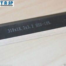 319x18.2x3.2mm HSS Wood Planer Blade Thickness Planer Knife For Ryobi ETP1531AK