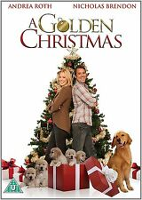A GOLDEN CHRISTMAS  Andrea Roth, Nicholas Brendon, Elisa NEW SEALED UK R2 DVD