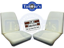 1968 1969 Dart GTX Coronet Front Bucket Seat Foam Buns Cushion PAIR