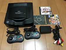 Neo Geo CD Console System Top Loading Model and Game Set NeoGeo Japan