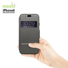 Genuine OEM Moshi SenseCover Designer Touch Sensitive Flip Case for iPhone 6 6s