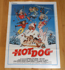 HOT DOG poster manifesto affiche Sci Acrobatico Patrick Houser Tracy N. Smith