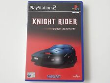 SONY PLAYSTATION 2 PS2  ~~  KNIGHT RIDER - THE GAME  ~  COMPLETE  ~  PAL