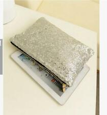 Women Fashion Glitter Sequins Handbag Evening Party Clutch Bag Wallet Purse #02