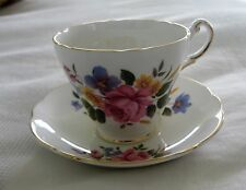 ENGLISH BONE CHINA CUP & SAUCER - TEA CUP SET - REGENCY