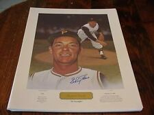 "Elroy Face Autographed Litho ""22 Straight"" Limited Ed /1959  Ted Williams Museum"