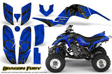 YAMAHA RAPTOR 660 GRAPHICS KIT CREATORX DECALS STICKERS DRAGON FURY YBL
