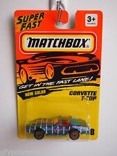 MATCHBOX SUPERFAST #58 CORVETTE T-TOP 1993 ISSUE