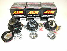 AEM (3 Gauges Combo) - UEGO WideBand A/F Ratio + Oil Temperature + Oil Pressure