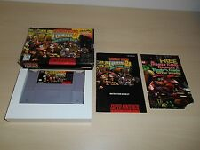 Donkey Kong Country 2 Complete SNES Super Nintendo CIB Diddy's Kong Quest II