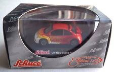"Schuco 1:87 Scale VW New Beetle RSI  ""Fire"" Die-Cast Metal NEW"