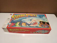 Vintage 1980'S Milton Bradley Game Shark Attack - Game complete!