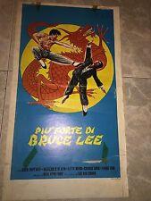 PIÙ FORTE DI BRUCE LEE CHEN WAY MIN Poster Playbill