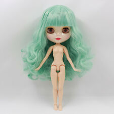 """Takara 12"""" Neo Blythe  Curly Hair joint body Nude Doll from Factory TbY227"""