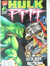 1  x Comic - Marvel Crossover 11 - Hulk Pitt