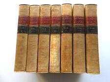 Les 50 Livres du Digeste / Pandectes de Justinien 1803-7 vol. in-4 PLEIN VELIN