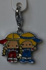 7-11 HK Sanrio 50th Anniversary Crystal Charm Patty & Jimmy Swarovski Couple