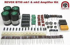 Revox B750 amplifier comprehensive service overhaul kit