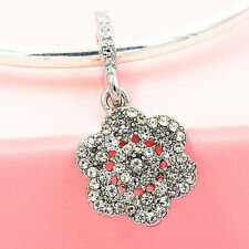 1pcs European Silver plated Charm Bead Fit sterling 925 Necklace Bracelet Chain