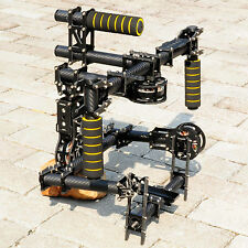 DSLR 3 axis Brushless handle Gimbal Stablizer Camera Mount w/ motor & controller