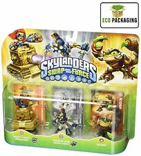 Activision Skylanders 3 Heavy Duty Sprocket / Twin Blade Chop / Scorp Figure