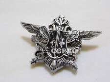 Japanese anime Black butler Sebastian's raven sign SMALL size metal badge/brooch