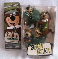 BRAND-NEW - TODD MCFARLANE - YOGI BEAR WITH BOO BOO & PARK RANGER - GREAT GIFT!