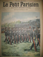 ELEVES ECOLE CENTRALE REVUE BREST FORT BOUGUEN ATTENTAT LE PETIT PARISIEN 1902