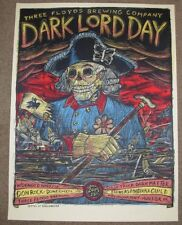 THREE FLOYDS BREWING Poster DARK LORD DAY 2015 Label Art craft beer brewery 3