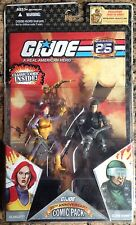 GI JOE COBRA * 2008 Scarlett & G.I. Joe Hawk * MOC * Combine Shipping!