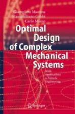 Optimal Design of Complex Mechanical Systems: With Applications to Veh-ExLibrary