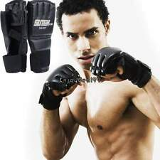 MMA UFC Ultimate Fight Grapple Punch Bag Half-finger Mitts Boxing Gloves OO