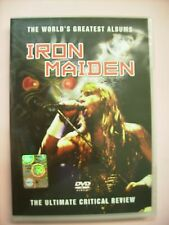 IRON MAIDEN - THE ULTIMATE CRITICAL REVIEW - DVD PAL BRAND NEW