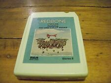 REDBONE CYCLES FEATURING PAT & LOLLY VEGAS 1977 RCA RECORDS  8-TRACK TAPE TESTED
