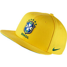 Nike Men's Core Brazil Football Soccer Snapback Adjustable Hat Cap - NWT 686243