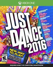 Just Dance 2016 XBOX ONE GAME BRAND NEW SEALED